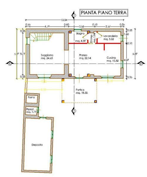 Progetto di Ristrutturazione Edilizia con parziale demolizione e ...